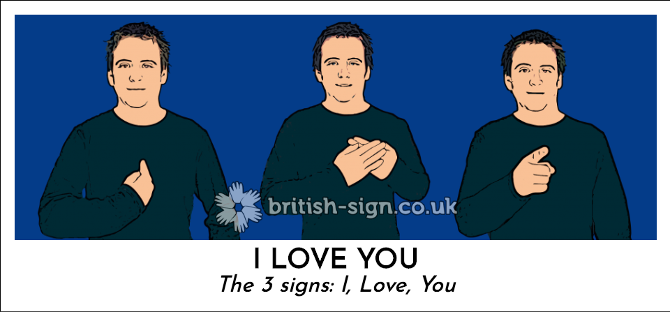 I Love You: The 3 signs: I, Love, You