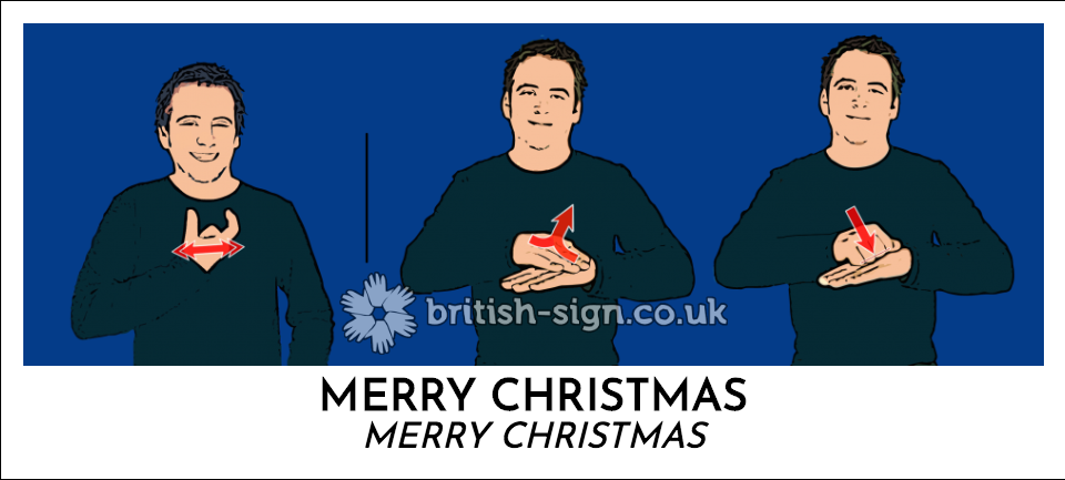 bsl merry christmas