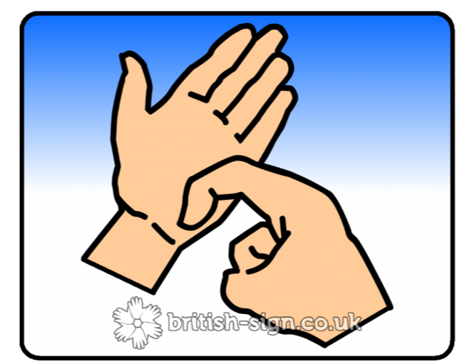 British Sign Language BSL Video Dictionary  bedroom