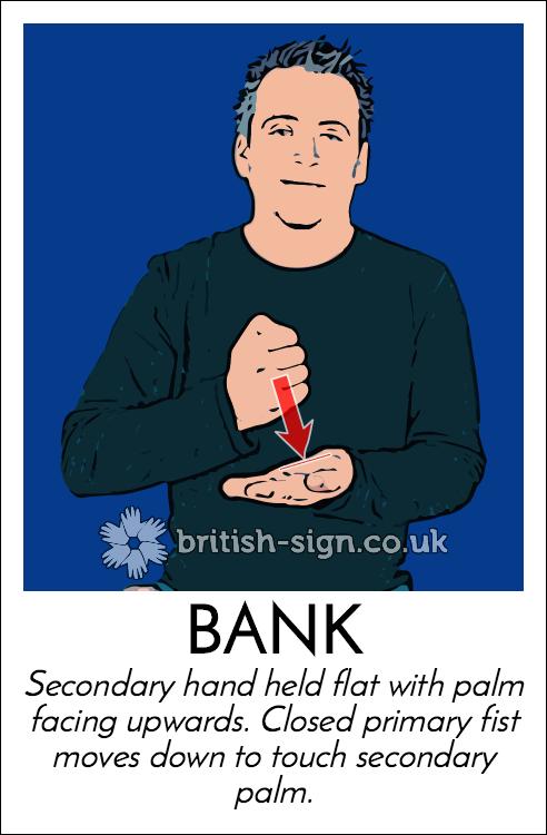 Sign for BANK - Signing Savvy   ASL Sign Language Video ...