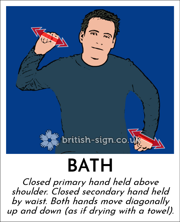 Sign Language For Bathroom: British Sign Language