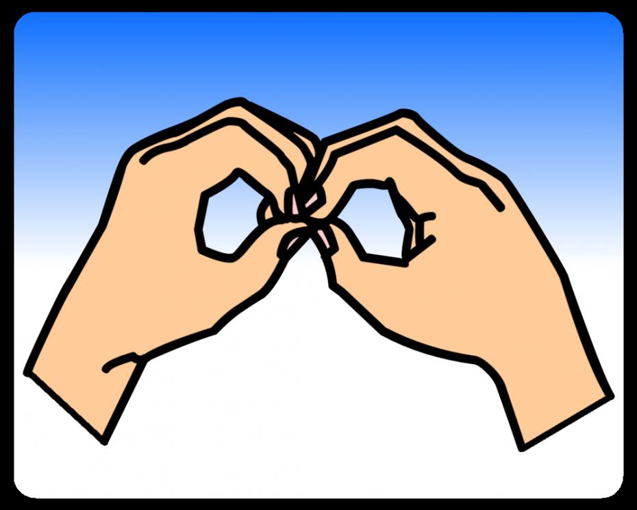 B - British Sign Language (BSL)