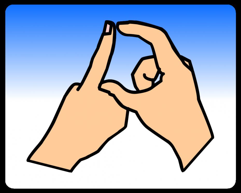 In Sign Language British sign language dictionary d