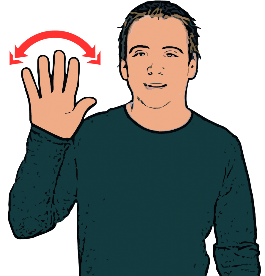 British sign language dictionary hello hello british sign language bsl m4hsunfo