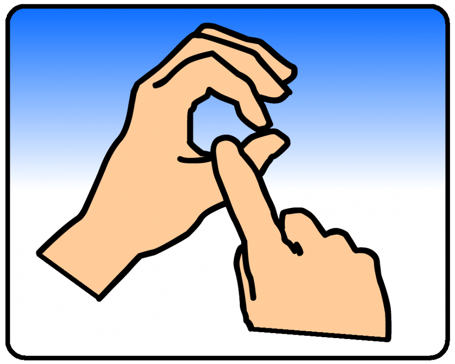 British sign language dictionary q q british sign language bsl reheart Gallery