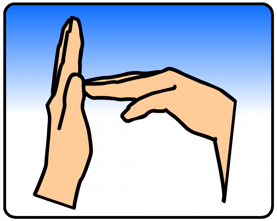 Sign Language Bulletin Board Cards  abcteach