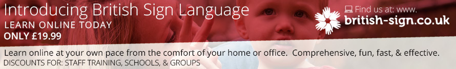 Learn British Sign Language Online