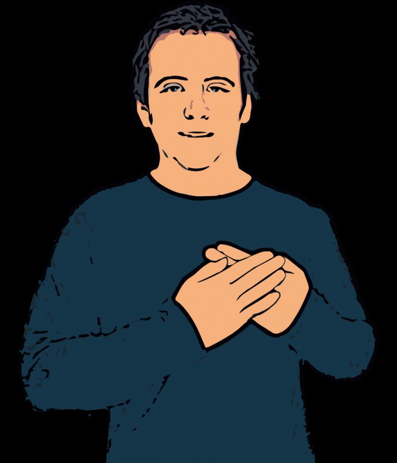 British Sign Language Dictionary | Love