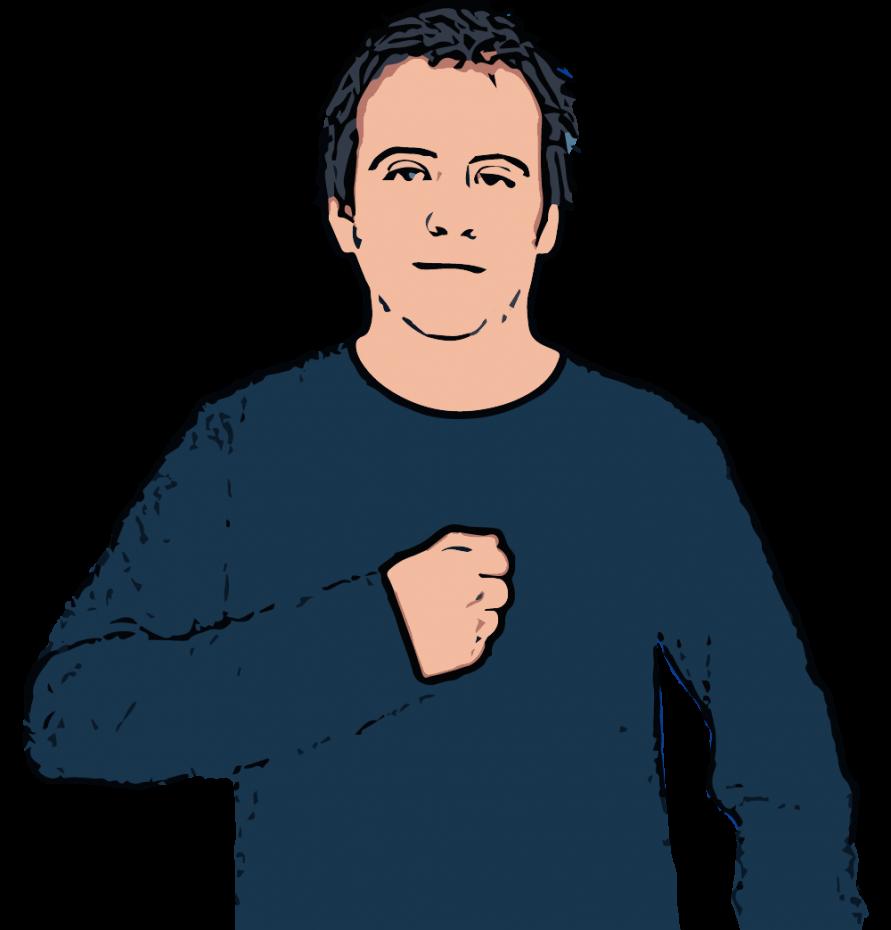 Mine - British Sign Language