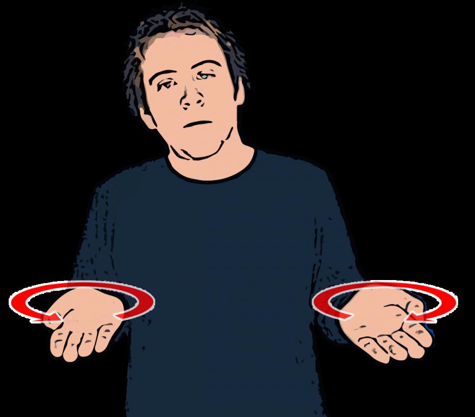 British Sign Language Dictionary | Where?