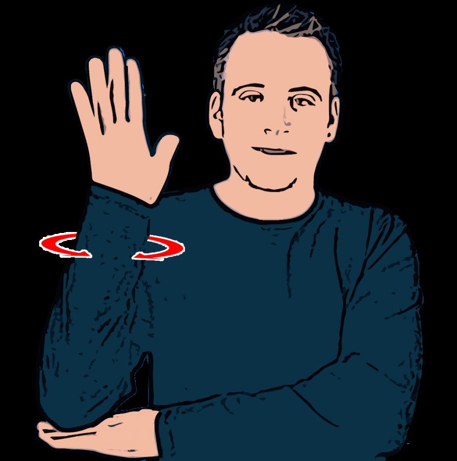 Tree - British Sign Language (BSL)