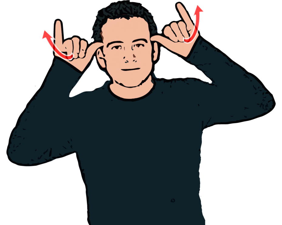 Cow - British Sign Language (BSL)