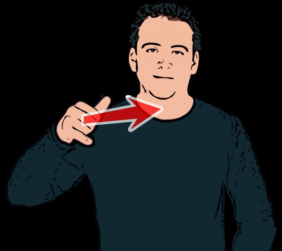 Plane - British Sign Language (BSL)