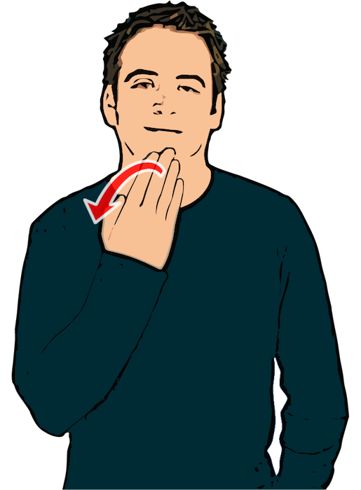 Thank you - British Sign Language (BSL)