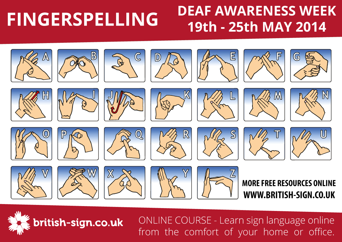 British Deaf Association - Sign Language Week 2019 ...