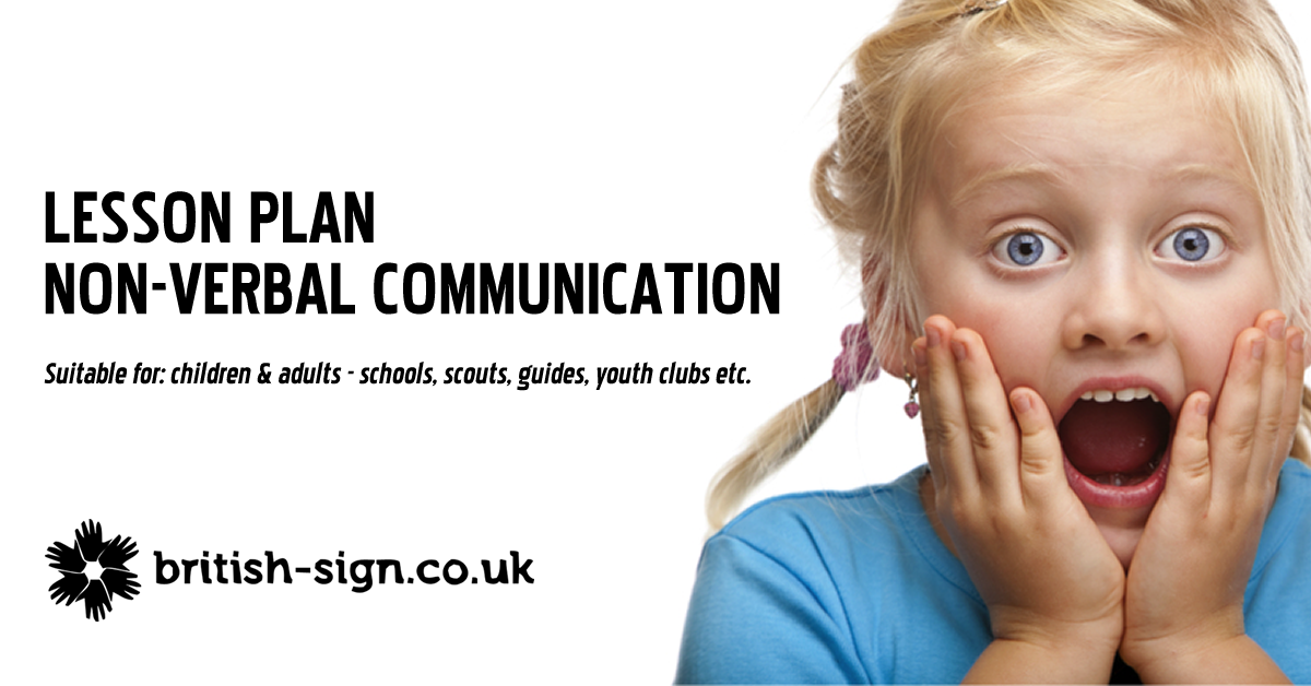lesson plan -  u0026quot don u0026 39 t talk to me  u0026quot  - british sign language